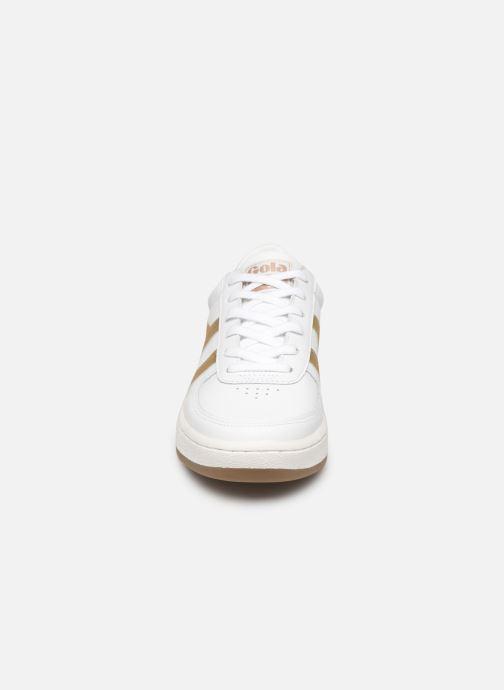 Baskets Gola Grandslam Leather Blanc vue portées chaussures