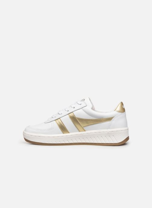Deportivas Gola Grandslam Leather Blanco vista de frente