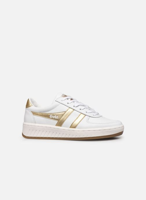 Baskets Gola Grandslam Leather Blanc vue derrière