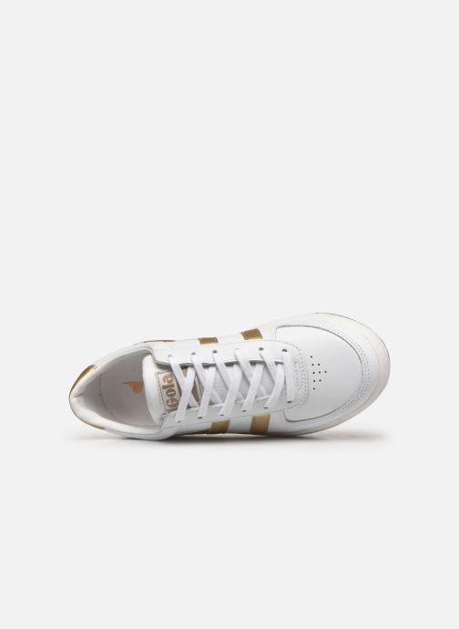 Baskets Gola Grandslam Leather Blanc vue gauche