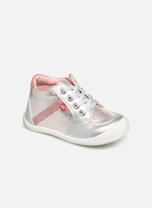 Boots en enkellaarsjes NA! Achany Roze detail