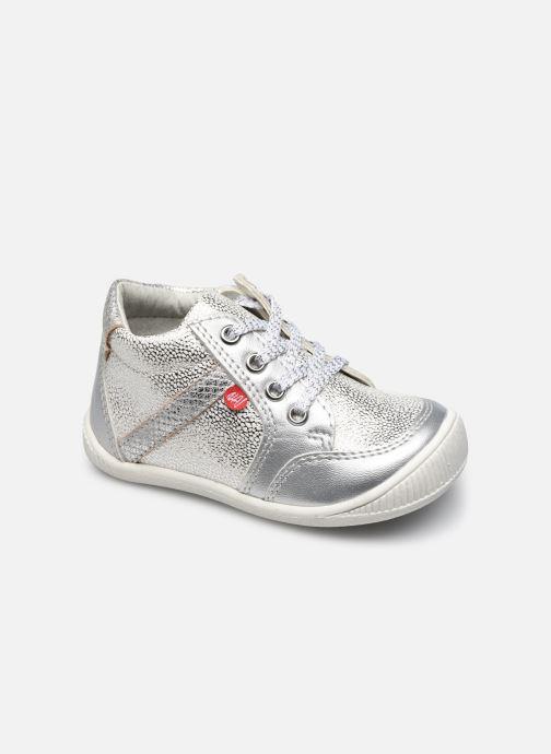 Boots en enkellaarsjes NA! Achany Zilver detail