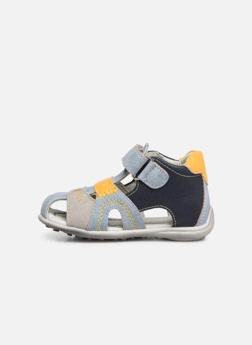 Sandales et nu-pieds NA! Ahoma Bleu vue face