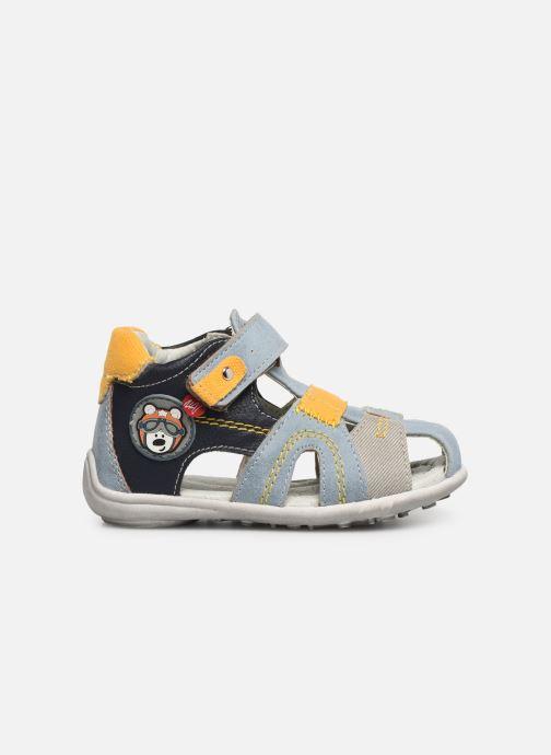 Sandales et nu-pieds NA! Ahoma Bleu vue derrière