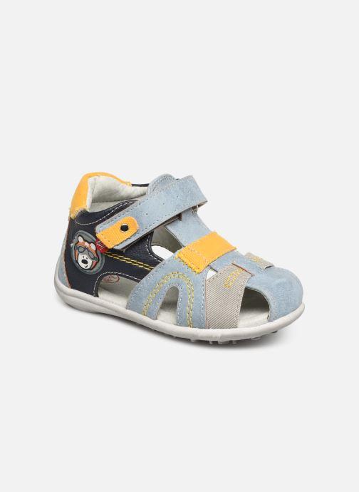 Sandales et nu-pieds NA! Ahoma Bleu vue détail/paire