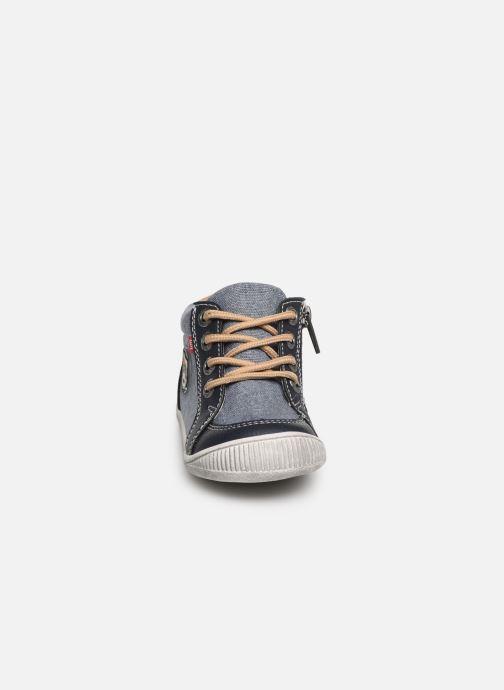 Bottines et boots NA! Afisiou Bleu vue portées chaussures