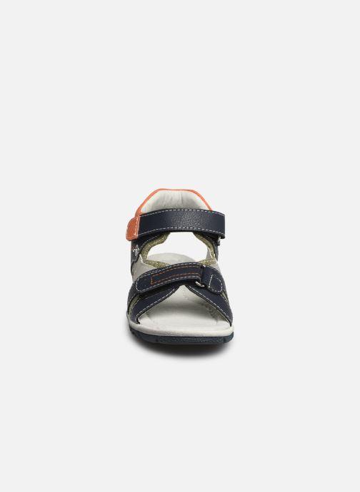 Sandales et nu-pieds NA! Adeliso Bleu vue portées chaussures