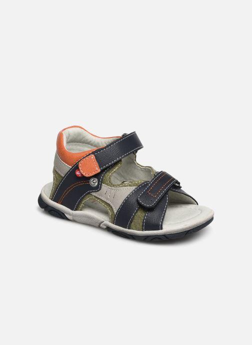 Sandales et nu-pieds NA! Adeliso Bleu vue détail/paire