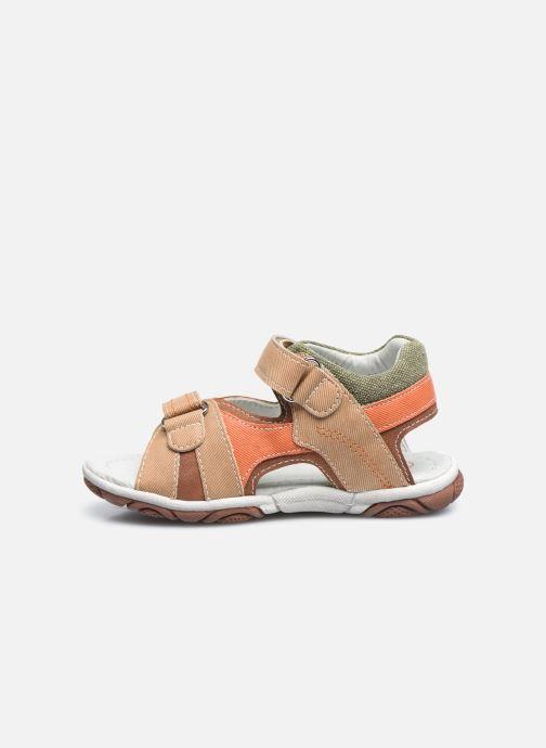 Sandales et nu-pieds NA! Adeliso Beige vue face