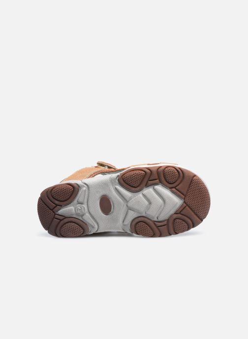 Sandales et nu-pieds NA! Adeliso Beige vue haut