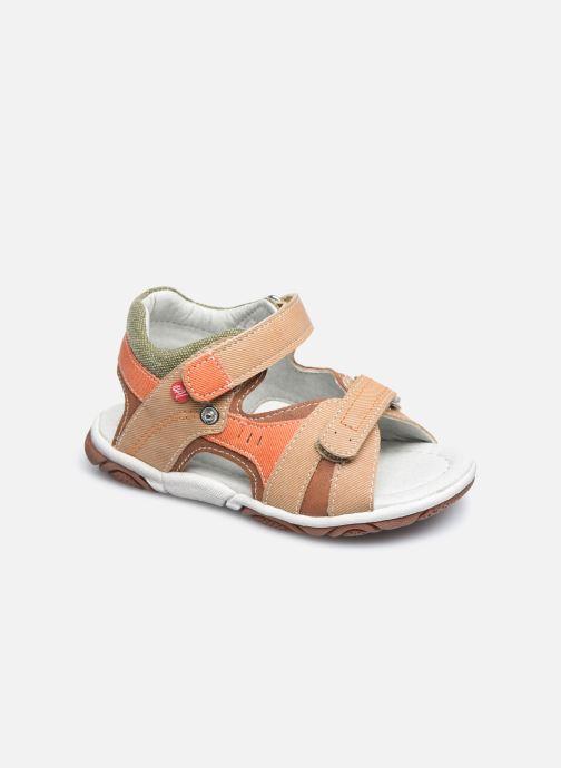 Sandales et nu-pieds NA! Adeliso Beige vue détail/paire
