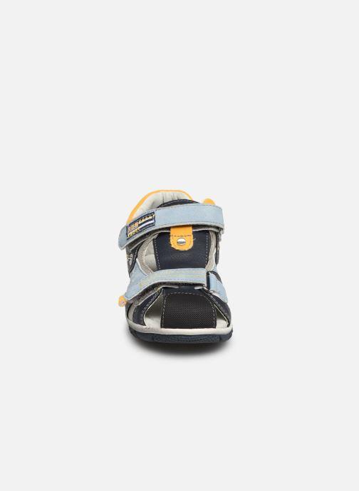 Sandalias NA! Abaco Azul vista del modelo