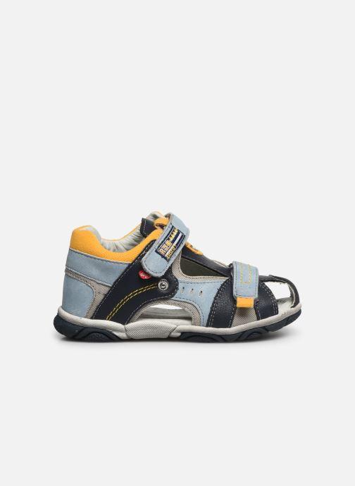 Sandales et nu-pieds NA! Abaco Bleu vue derrière