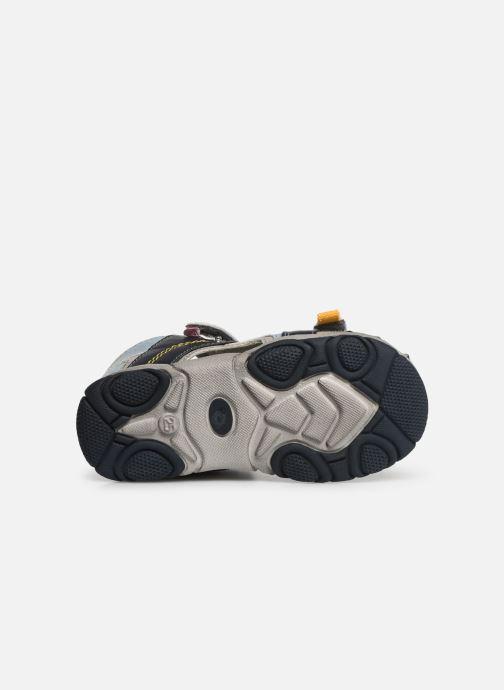 Sandales et nu-pieds NA! Abaco Bleu vue haut