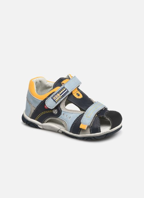 Sandales et nu-pieds NA! Abaco Bleu vue détail/paire