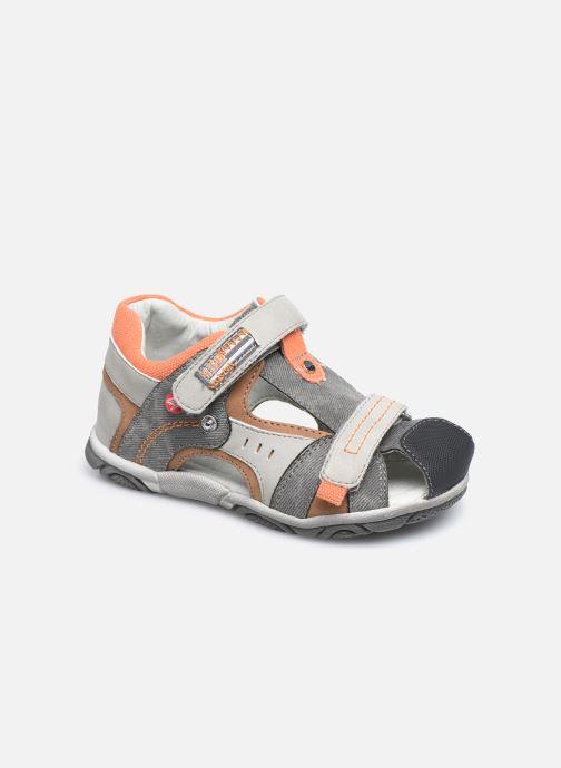 Sandales et nu-pieds NA! Abaco Gris vue détail/paire