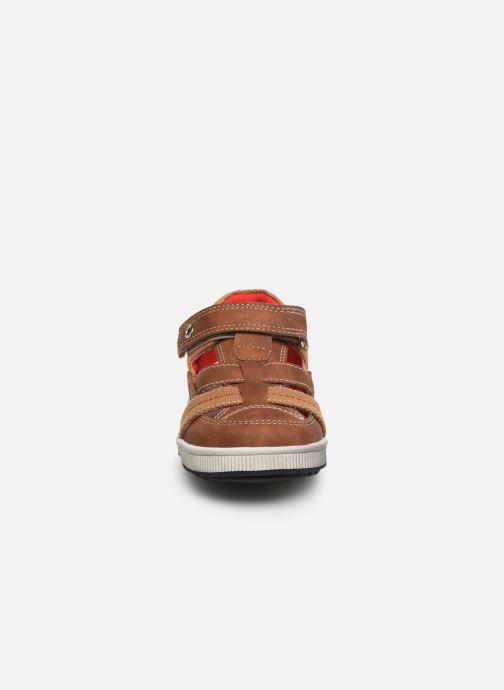 Baskets NA! Agirou Marron vue portées chaussures