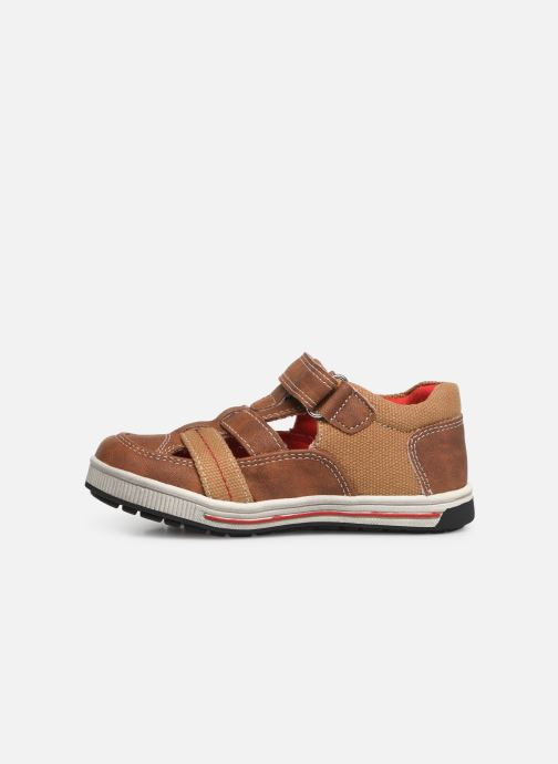 Trainers NA! Agirou Brown front view