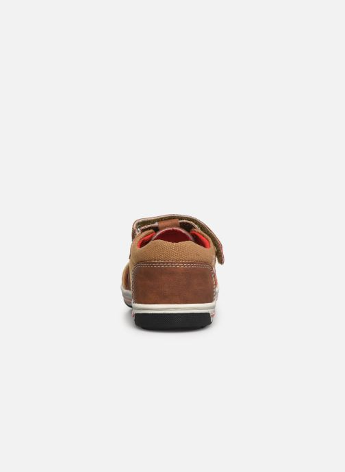 Trainers NA! Agirou Brown view from the right