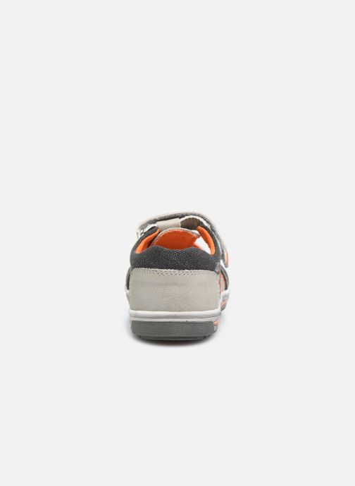 Baskets NA! Agirou Gris vue droite