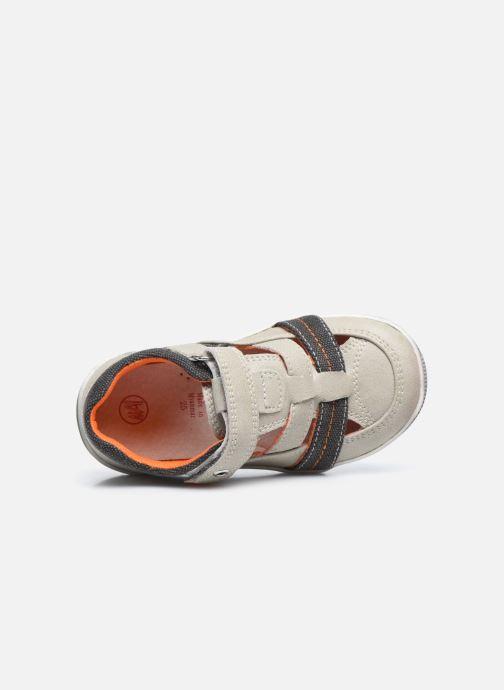 Sneakers NA! Agirou Grigio immagine sinistra