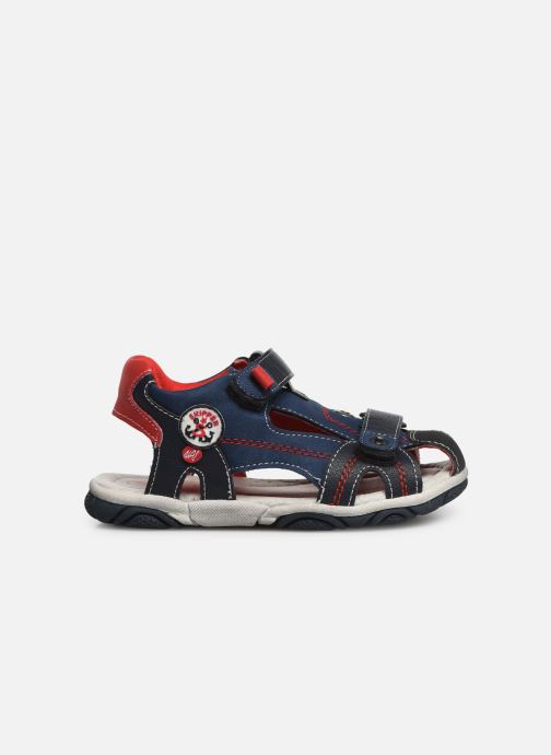 Sandales et nu-pieds NA! Agrid Bleu vue derrière