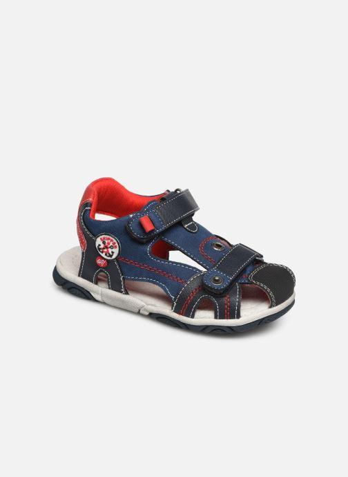 Sandales et nu-pieds NA! Agrid Bleu vue détail/paire