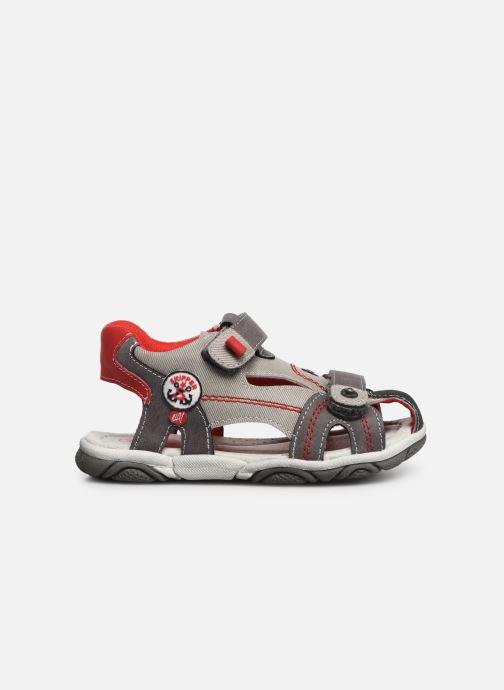 Sandales et nu-pieds NA! Agrid Gris vue derrière