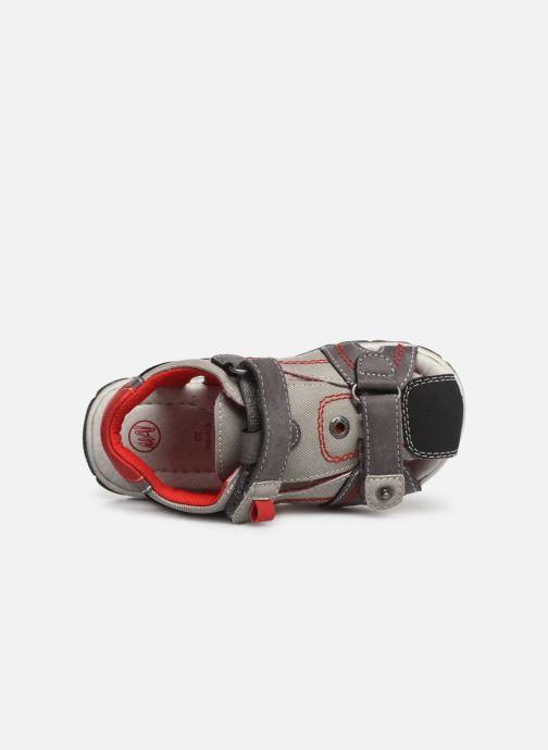 Sandales et nu-pieds NA! Agrid Gris vue gauche