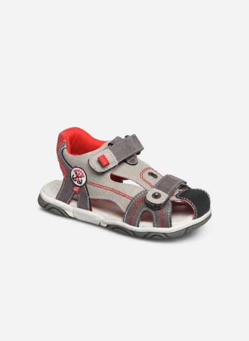 Sandales et nu-pieds NA! Agrid Gris vue détail/paire