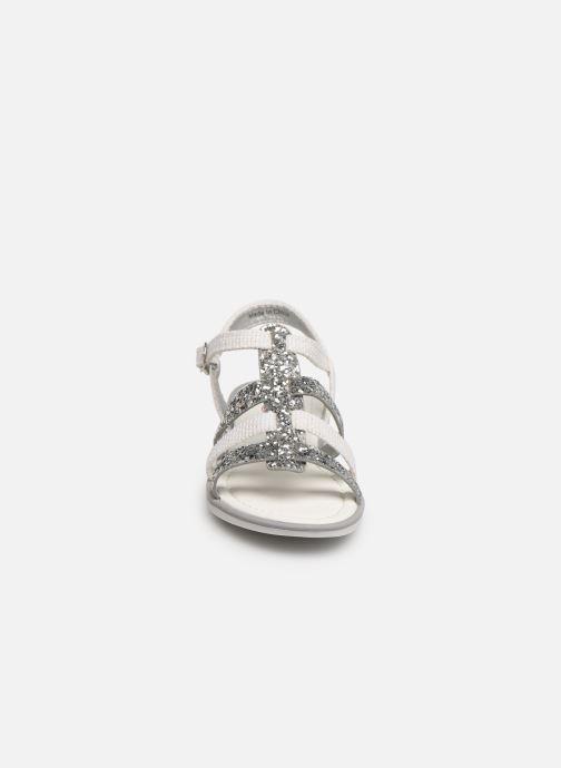 Sandales et nu-pieds NA! Five Argent vue portées chaussures