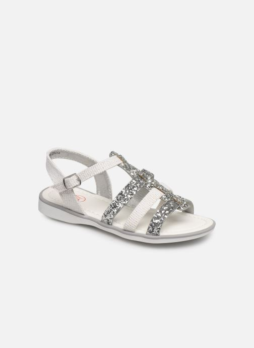 Sandales et nu-pieds NA! Five Argent vue détail/paire