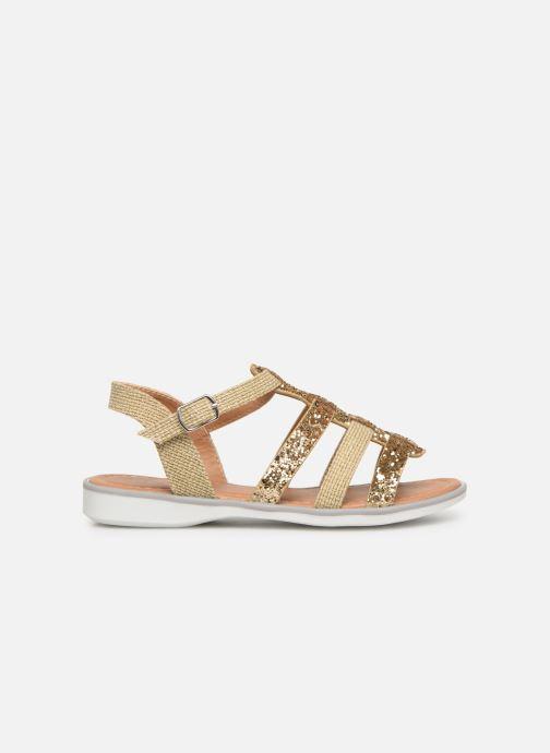 Sandales et nu-pieds NA! Five Or et bronze vue derrière