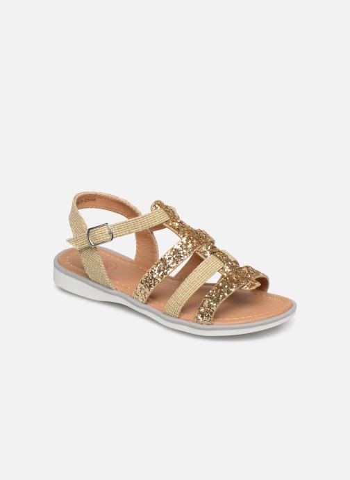 Sandales et nu-pieds NA! Five Or et bronze vue détail/paire