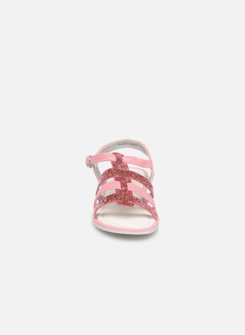 Sandales et nu-pieds NA! Five Rose vue portées chaussures