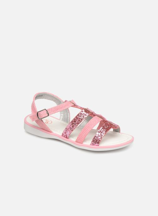 Sandales et nu-pieds NA! Five Rose vue détail/paire