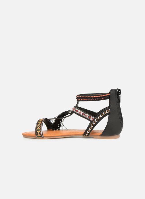 Sandales et nu-pieds NA! Sari Noir vue face