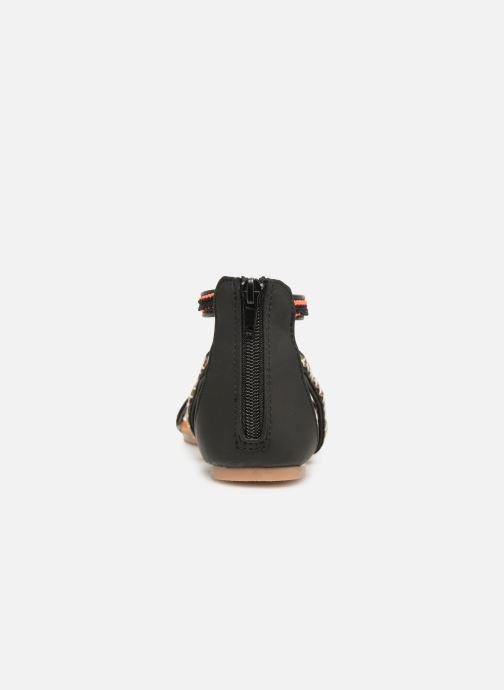 Sandales et nu-pieds NA! Sari Noir vue droite