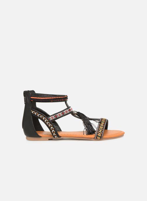 Sandales et nu-pieds NA! Sari Noir vue derrière