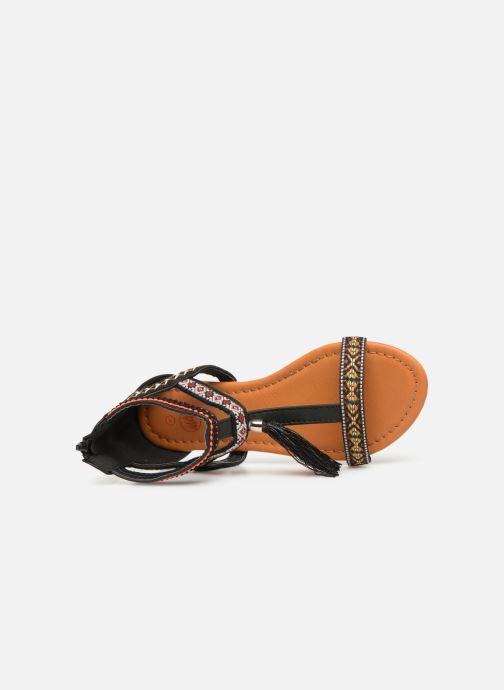 Sandales et nu-pieds NA! Sari Noir vue gauche