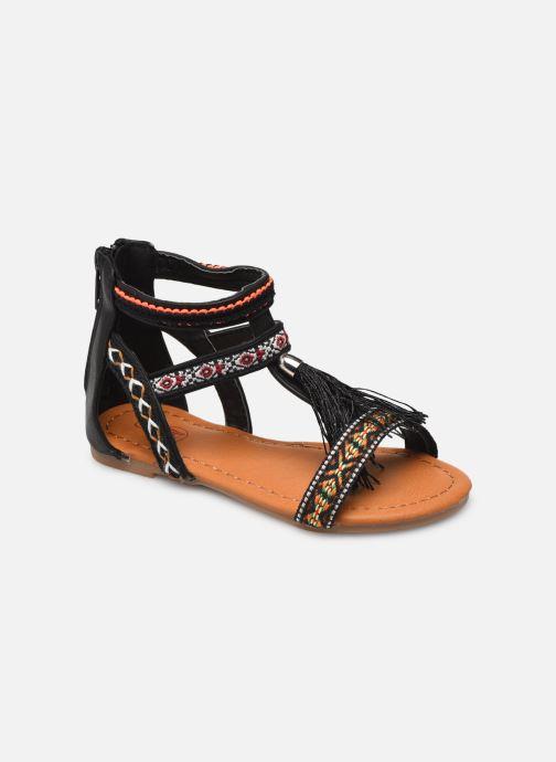 Sandales et nu-pieds NA! Sari Noir vue détail/paire