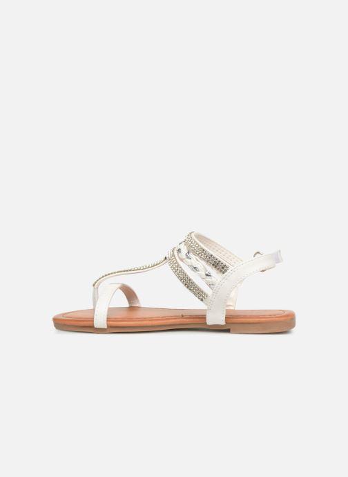Sandales et nu-pieds NA! Sapeur Blanc vue face