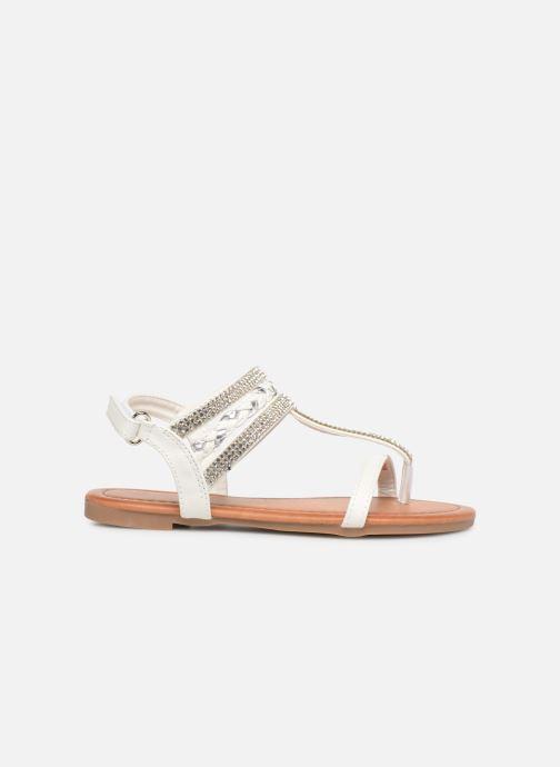Sandales et nu-pieds NA! Sapeur Blanc vue derrière