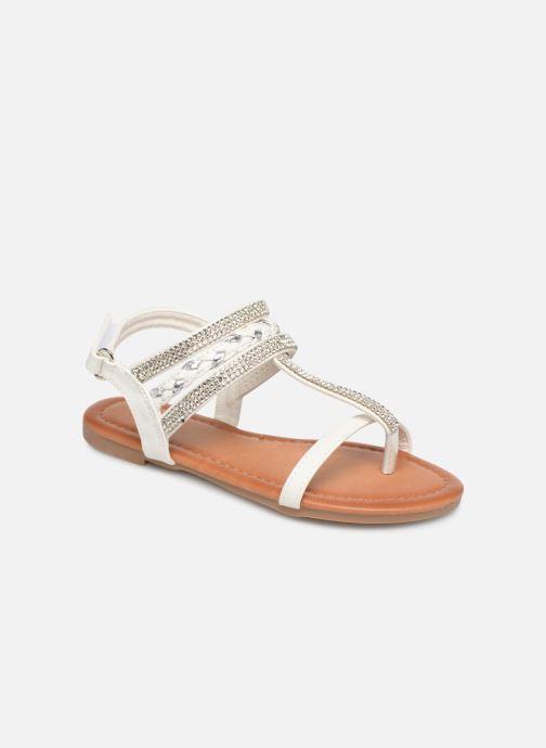 Sandales et nu-pieds NA! Sapeur Blanc vue détail/paire