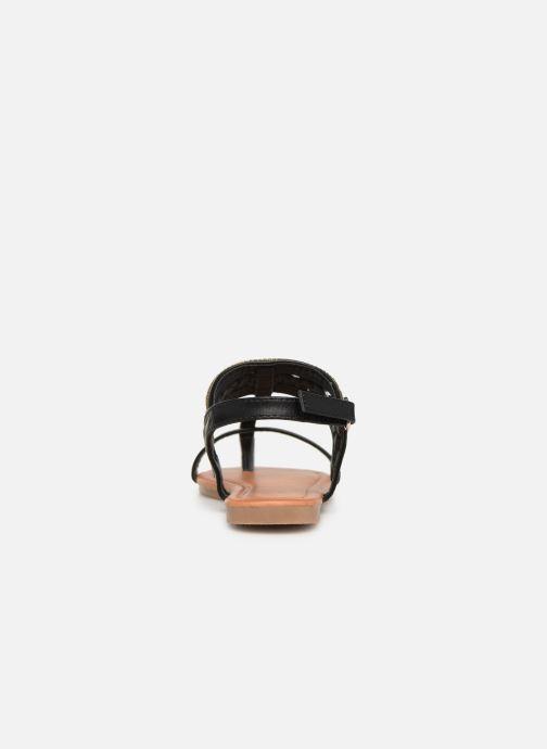 Sandales et nu-pieds NA! Sapeur Noir vue droite