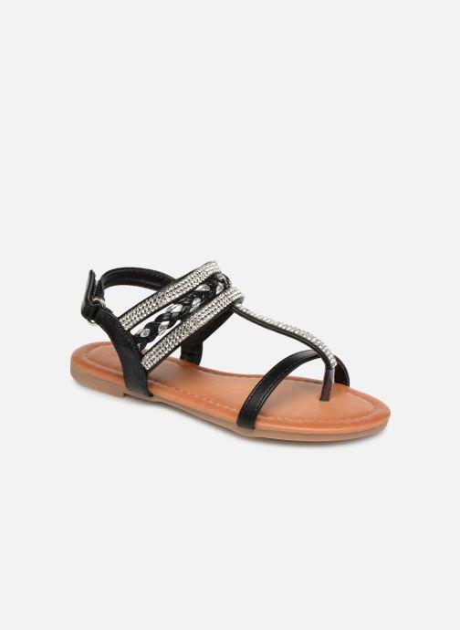 Sandales et nu-pieds NA! Sapeur Noir vue détail/paire