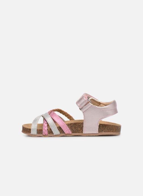 Sandales et nu-pieds NA! Axelle Multicolore vue face