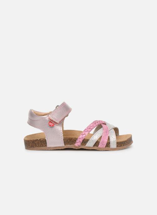 Sandales et nu-pieds NA! Axelle Multicolore vue derrière
