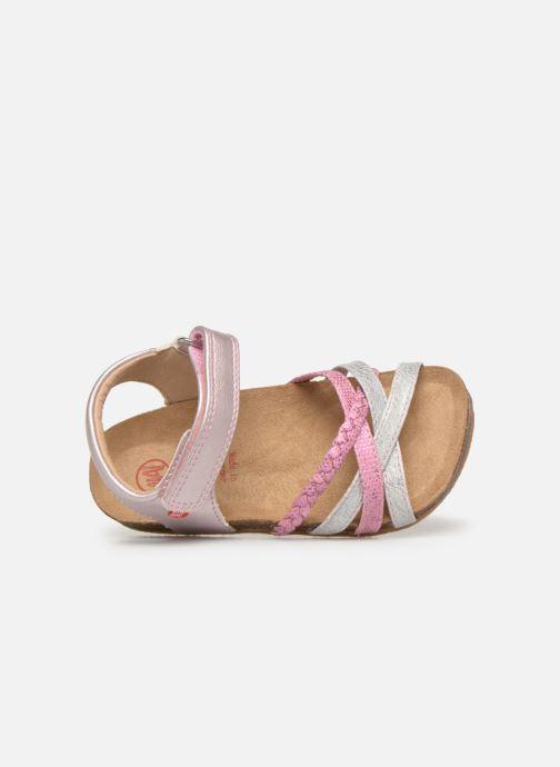 Sandales et nu-pieds NA! Axelle Multicolore vue gauche