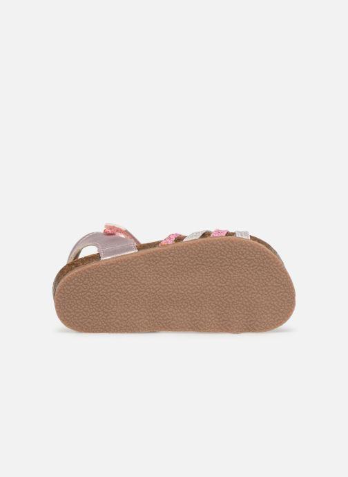 Sandales et nu-pieds NA! Axelle Multicolore vue haut